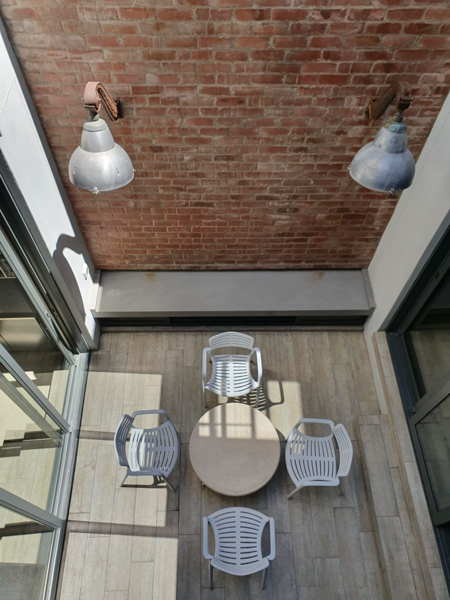 76 Waterkant Street - internal courtyard