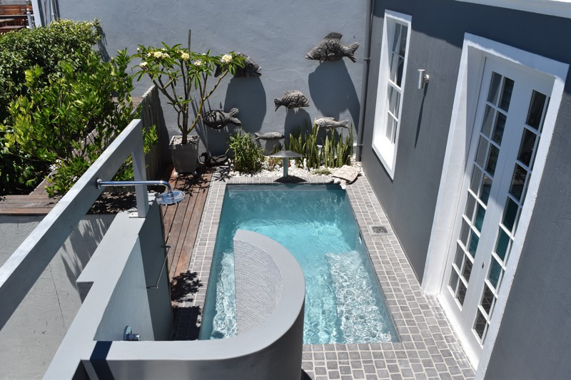 10 Loader Street - pool terrace
