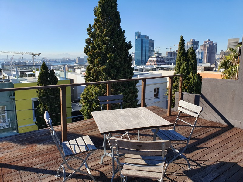 75 Loader Street - roof deck