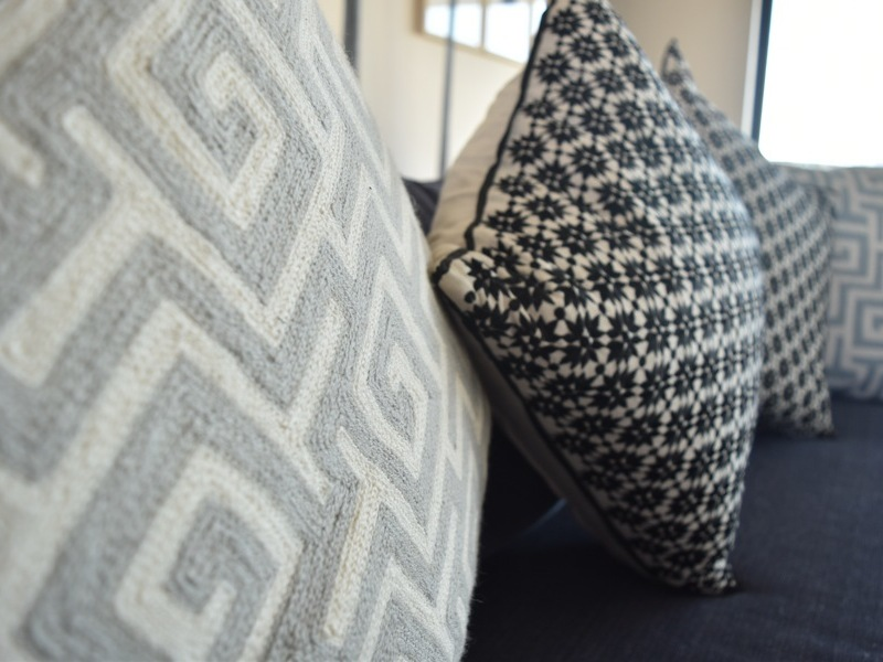 2 Loader Street - sofa cushions