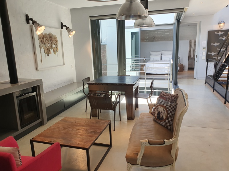 76 Waterkant Street - first floor living area