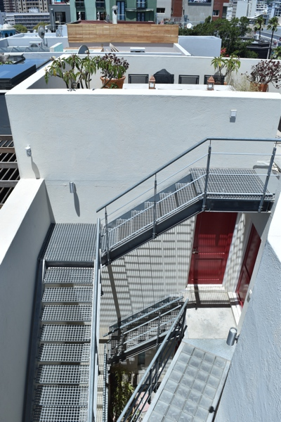 39 Dixon Street - internal staircase to roof