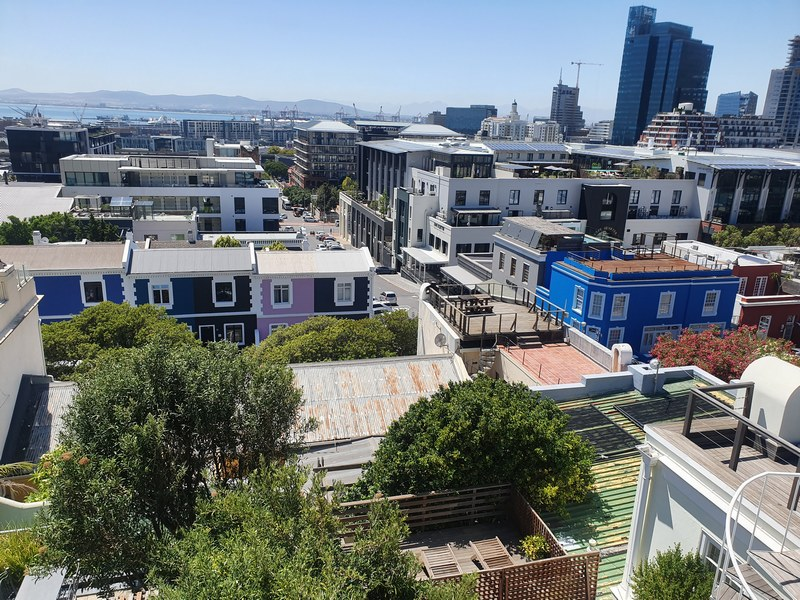 24 Loader Street - roof terrace views