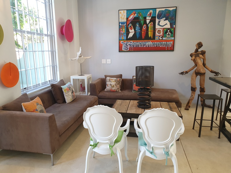 76 Waterkant Street - dining & living area