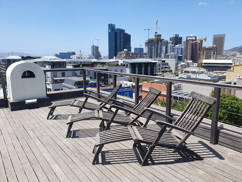 42 Napier Street - top deck views