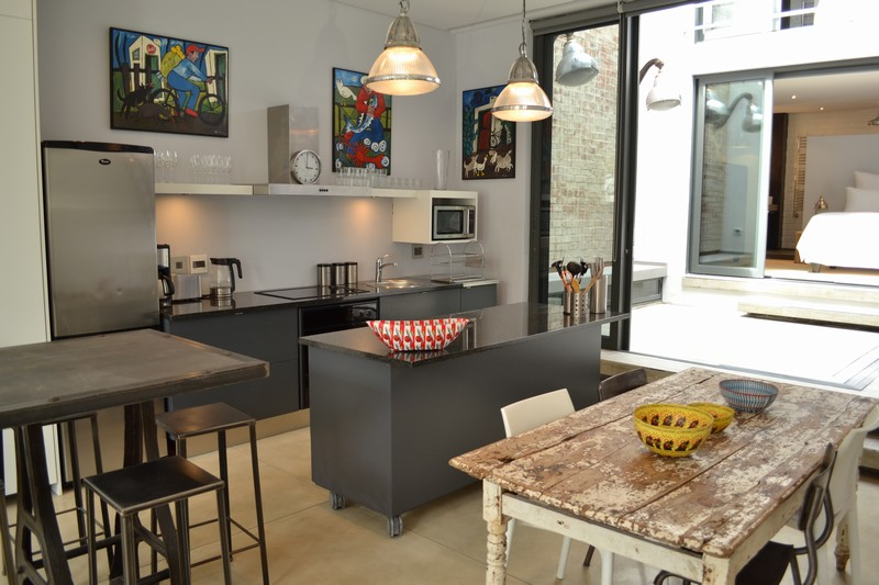 76 Waterkant Street - open plan kitchen & dining area