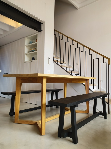 92 Waterkant Street - dining area & staircase
