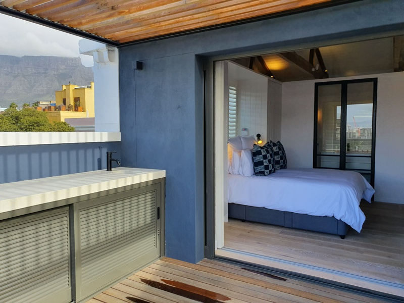 92 Waterkant Street - bedroom 1 & balcony