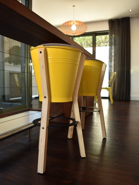 77 Loader Street - kitchen bucket stools