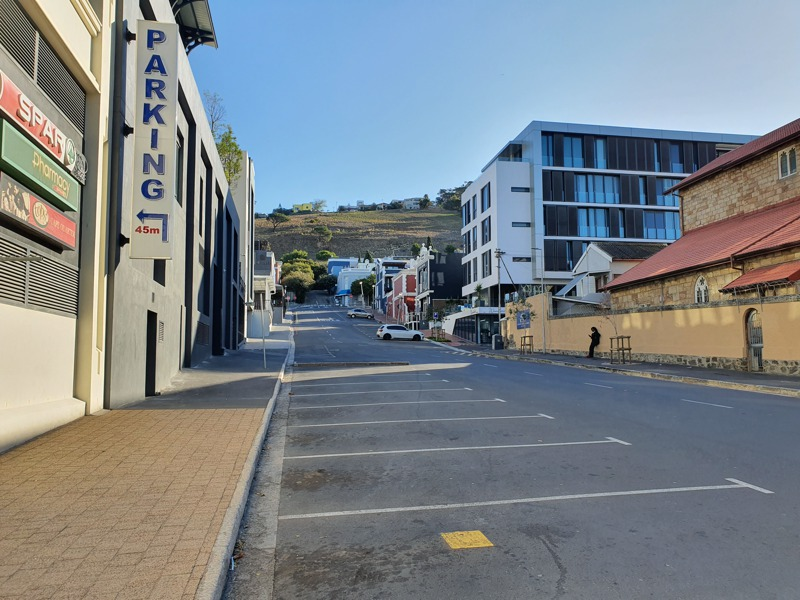 De Waterkant Village - Napier Street from Somerset Road - Click to enlarge