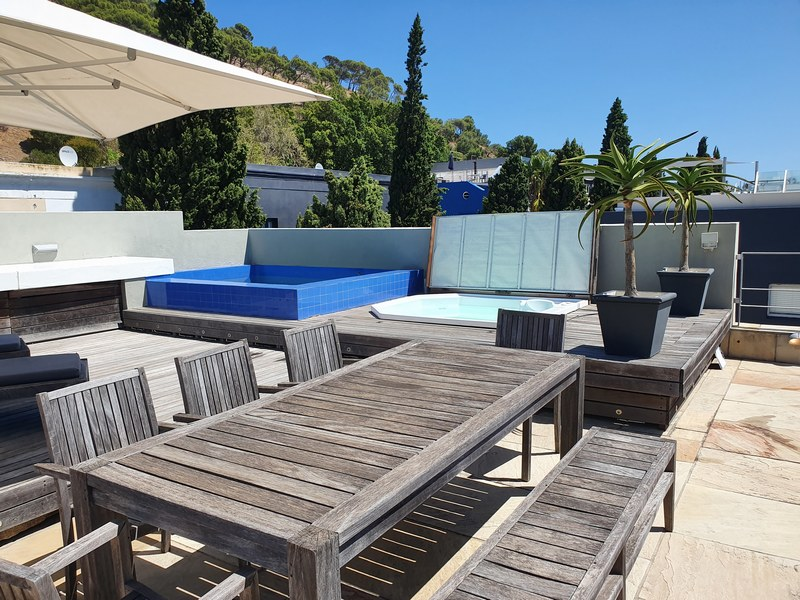 24 Loader Street - roof terrace
