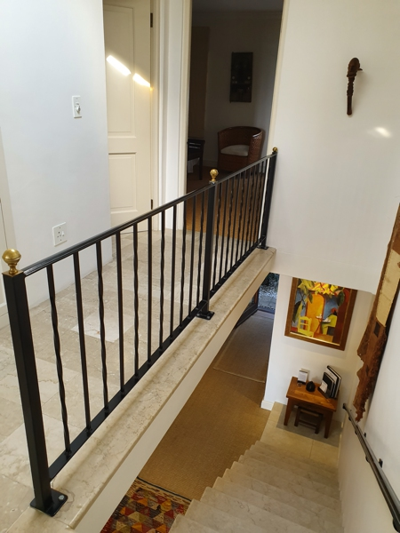 70 Loader - stairs to ground floor
