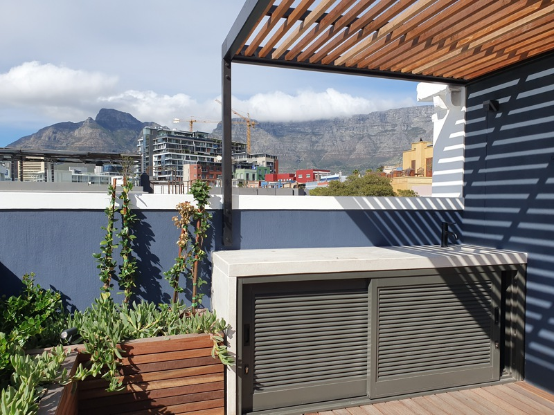 92 Waterkant Street - bedroom 1 terrace view