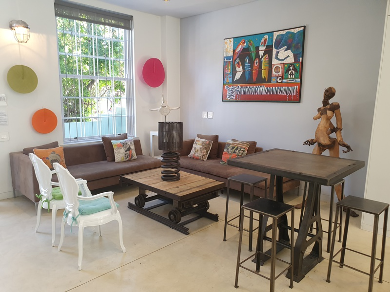 76 Waterkant Street - living area