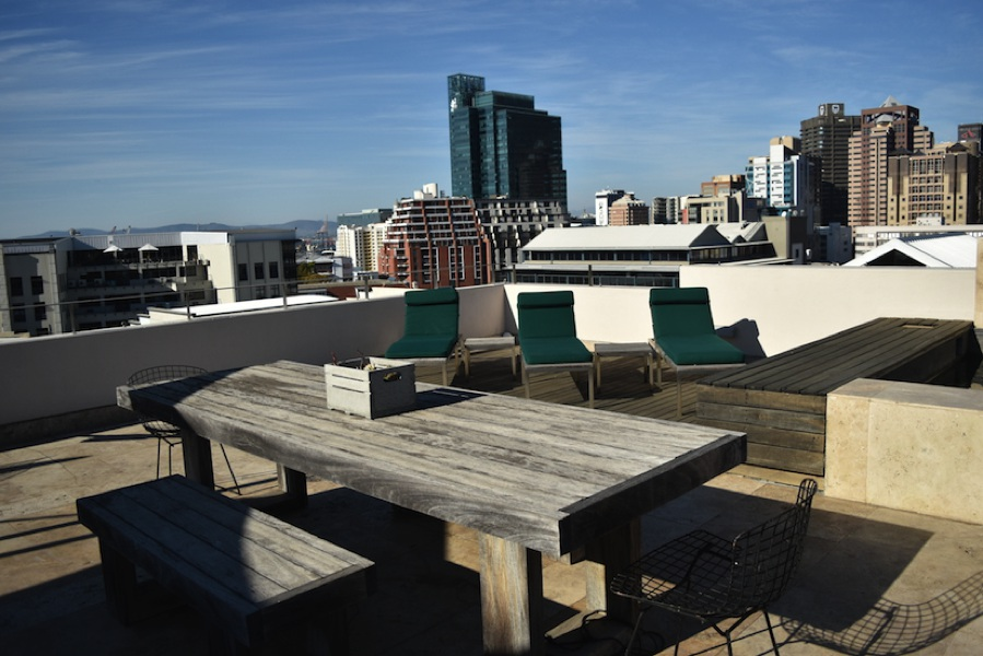 2 Loader Street - roof terrace