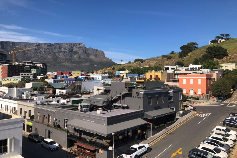 32 Napier Street - view city & Table Mountain