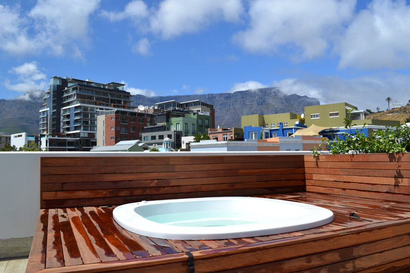 76 Waterkant Street - roof terrace