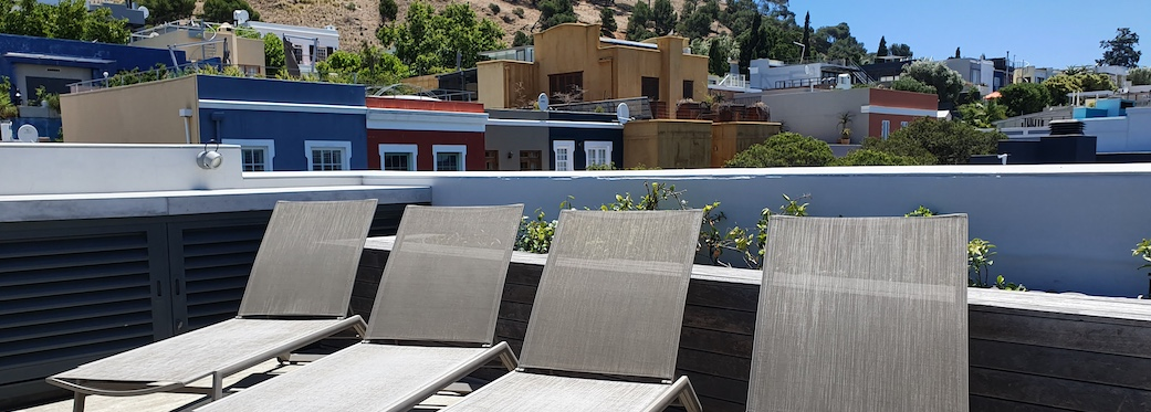 76 Waterkant Street - roof deck sun loungers