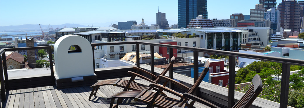 42 Napier Street - top roof deck views